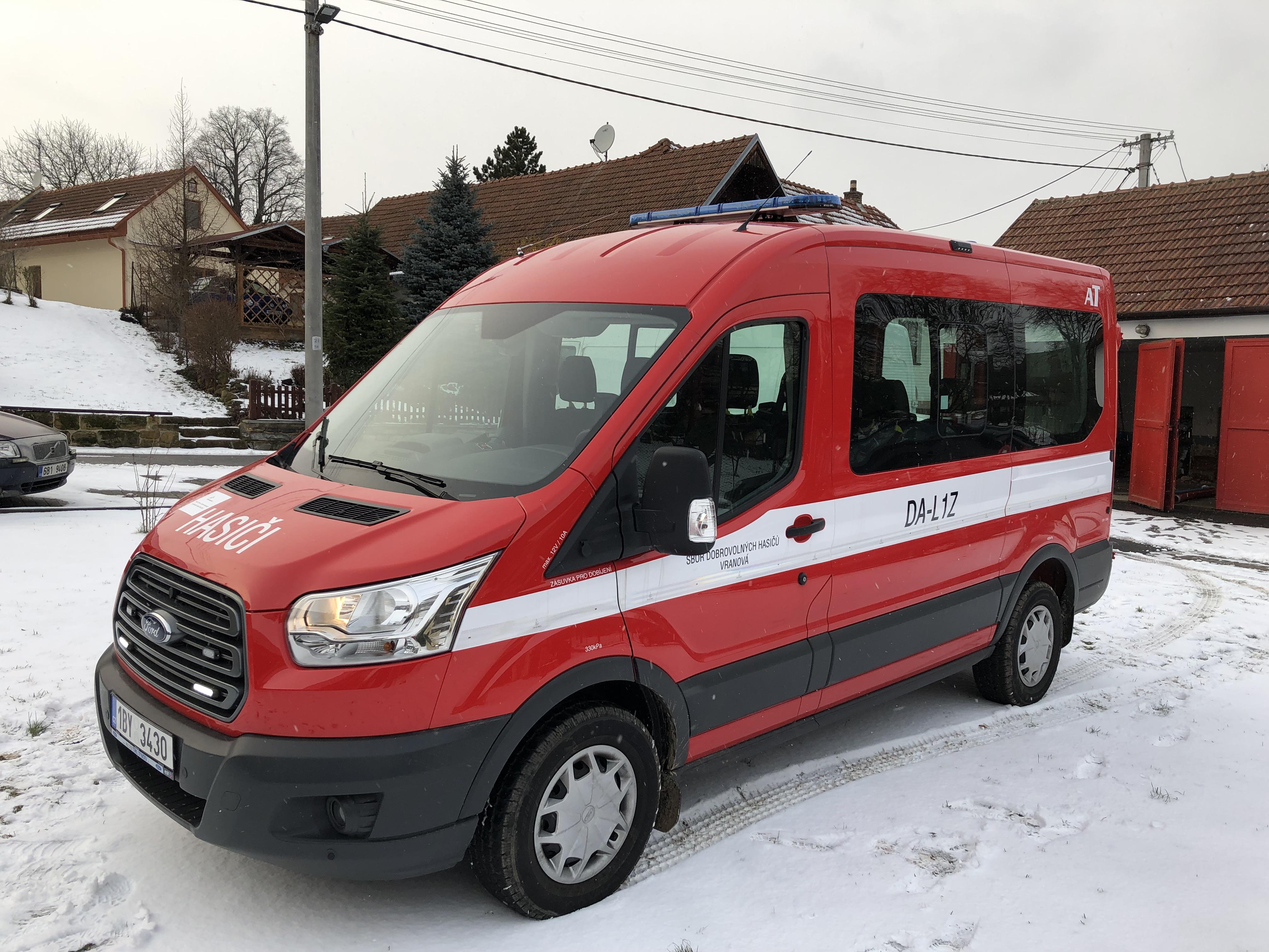 Nové vozidlo SDH